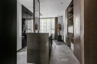 140平米公寓现代简约风格衣帽间图
