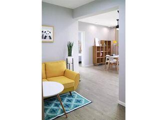 50平米一室一厅北欧风格客厅装修案例