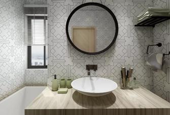 80平米公寓北欧风格卫生间装修图片大全