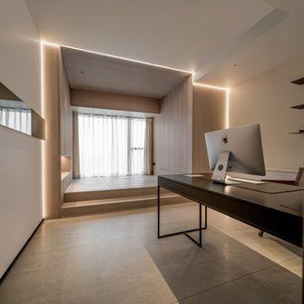 130平米三现代简约风格书房设计图
