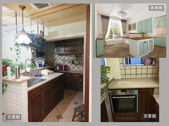 140平米四室三厅田园风格餐厅图片大全