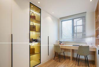 80平米三室两厅北欧风格衣帽间装修效果图