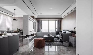 15-20万140平米四室两厅现代简约风格客厅图