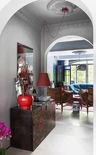 130平米复式现代简约风格走廊装修效果图
