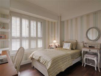 120平米三室一厅地中海风格卧室装修图片大全