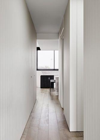 110平米三室两厅英伦风格走廊装修效果图