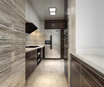 130平米三室三厅新古典风格厨房装修图片大全