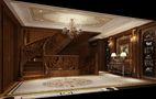 140平米别墅新古典风格阁楼图片大全