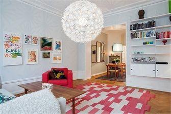 80平米宜家风格客厅效果图