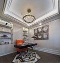 140平米四室两厅法式风格书房装修案例