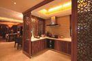 120平米三室一厅东南亚风格厨房图片