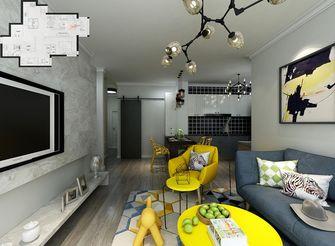 80平米一室一厅新古典风格客厅装修案例