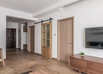 70平米三室一厅宜家风格客厅装修案例