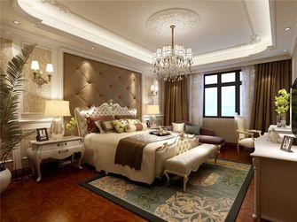 140平米四室两厅新古典风格卧室背景墙图片