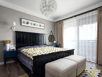 90平米三室两厅北欧风格卧室效果图