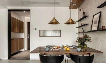 100平米三室两厅北欧风格餐厅设计图