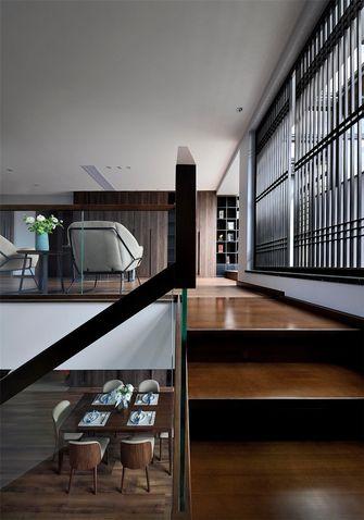 140平米复式混搭风格阁楼装修图片大全