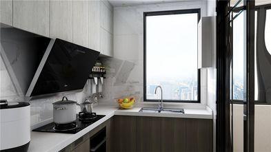 80平米三中式风格厨房装修图片大全