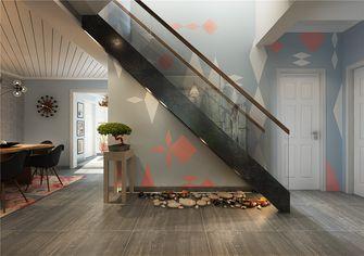120平米三室两厅北欧风格楼梯间图片