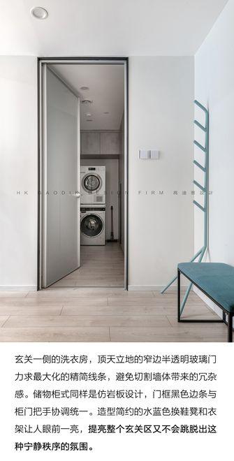 140平米一室两厅现代简约风格玄关欣赏图