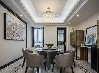 130平米四室三厅欧式风格餐厅装修效果图