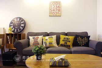 60平米一居室日式风格客厅效果图