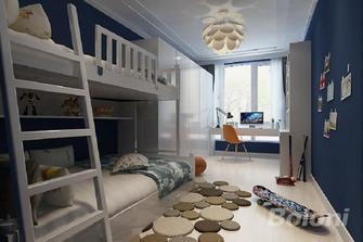 130平米三室两厅中式风格儿童房效果图