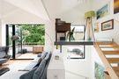 70平米一室一厅新古典风格阁楼效果图
