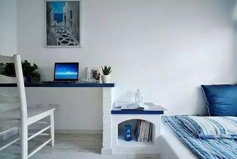 80平米公寓地中海风格卧室装修案例