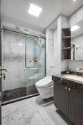 140平米三室五厅美式风格卫生间装修案例