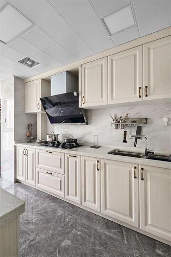 130平米三室两厅美式风格厨房欣赏图