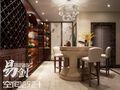 20万以上140平米别墅中式风格储藏室欣赏图