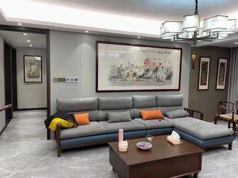 110平米三室一厅中式风格客厅装修效果图