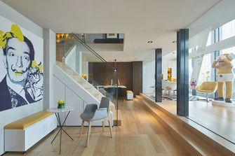 豪华型140平米复式现代简约风格楼梯图片