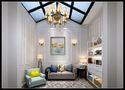 140平米别墅美式风格阳光房装修案例