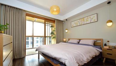 110平米三室两厅日式风格卧室效果图