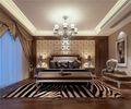 20万以上140平米别墅欧式风格卧室设计图