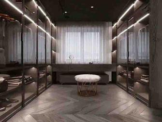 130平米三室一厅新古典风格衣帽间装修图片大全