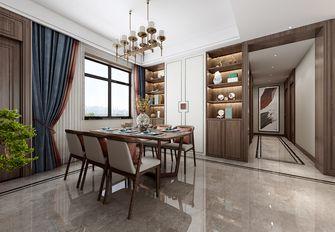 90平米三室两厅中式风格餐厅装修案例