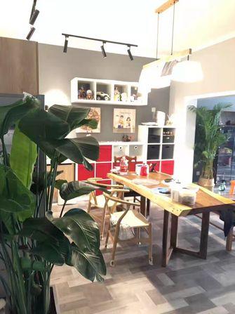 120平米三室两厅田园风格餐厅欣赏图