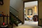 15-20万140平米别墅东南亚风格玄关设计图