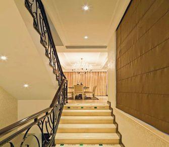 20万以上140平米三室一厅新古典风格楼梯图