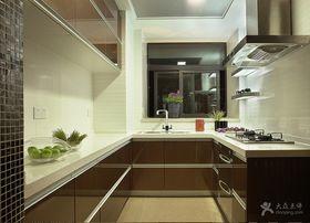豪华型140平米四室两厅现代简约风格厨房图