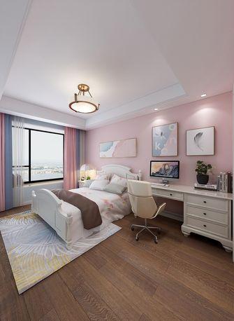 140平米三室两厅美式风格儿童房图片
