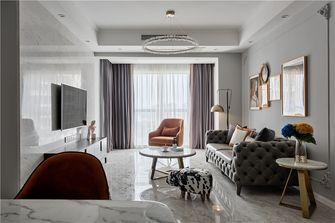 90平米四室两厅美式风格客厅图