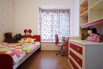 120平米三室两厅英伦风格儿童房图片