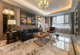 140平米三室兩廳混搭風格客廳裝修效果圖