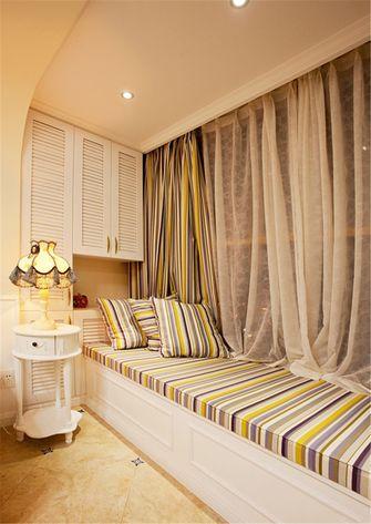 80平米一室一厅地中海风格阳台装修效果图