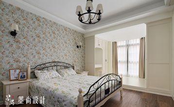 130平米三室三厅美式风格卧室装修效果图