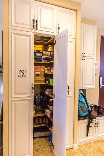 130平米三室两厅田园风格储藏室效果图